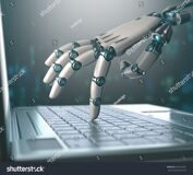 stock-photo-robotic-hand-accessing-on-laptop-the-virtual-world-of-information-concept-of-artificial-359725301